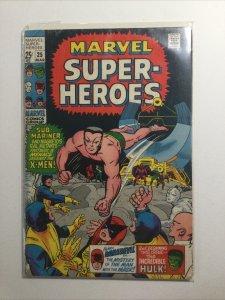 Marvel Super-Heroes 25 Good Gd 2.0 Marvel