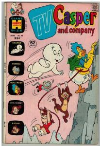 TV CASPER & COMPANY (1963-1974) 41 VG-F June 1973 COMICS BOOK