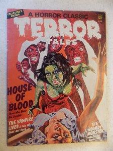 TERROR TALES V8 # 1 EERIE PUBLICATIONS 977 MONSTERS SCARCE