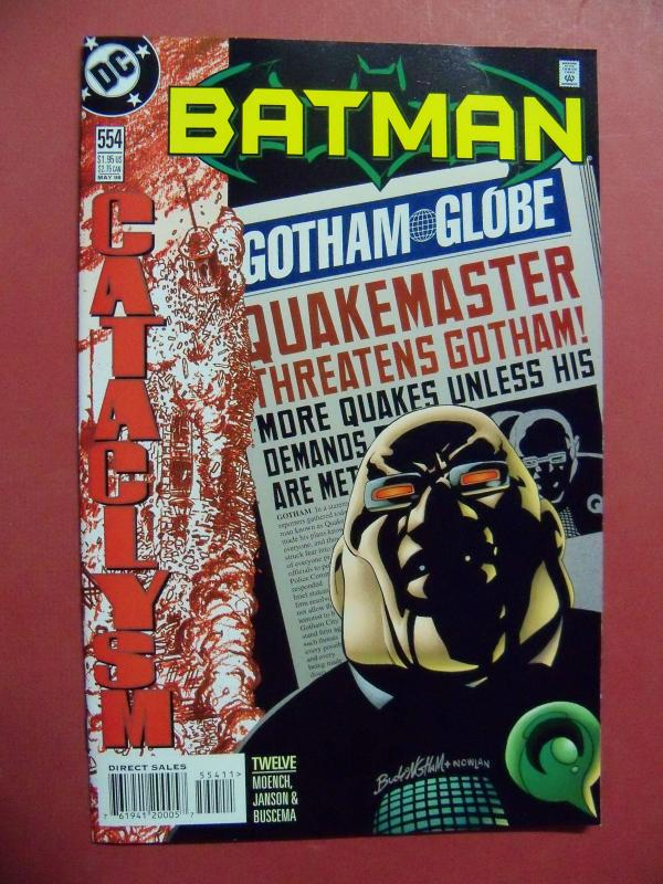 BATMAN #554 (Near Mint 9.4 or better) DC COMICS  1998