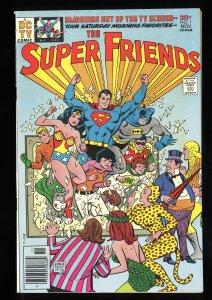 Super Friends  #1 VF- 7.5 Batman Superman Wonder Woman!