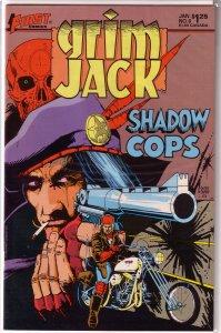 Grimjack   # 6 FN (First Comics) Ostrander/Truman