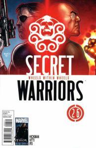 Secret Warriors #26 VF/NM; Marvel   save on shipping - details inside