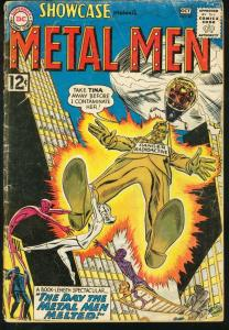 SHOWCASE #40-METAL MEN-1962-DC G