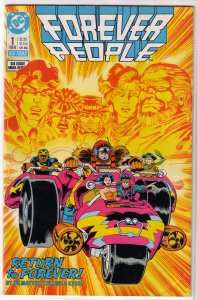 Forever People (vol. 2, 1988) #1 of 6 VG DeMatteis/Cullins