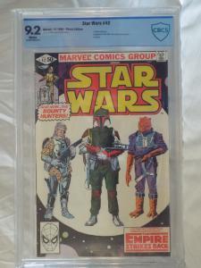 Star Wars #42 - CBCS 9.2 - 1st Boba Fett Cover
