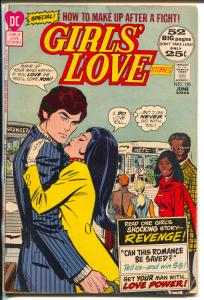 Girls' Love Stories #170-1972-DC-African American characters on cover & story-VG