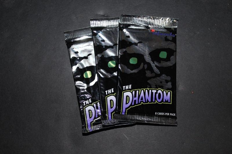 Vintage1996 Inkworks The Phantom Trading Cards Wax Pack x3 (3 packs) h11
