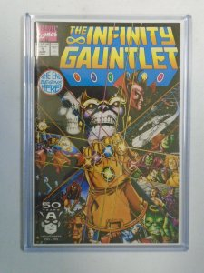 The Infinity Gauntlet #1 8.5 VF+ (1991 1st Series)