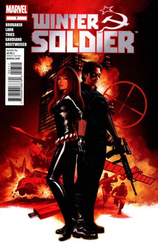 Winter Soldier #7 VF/NM; Marvel | save on shipping - details inside