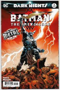 Batman The Merciless #1 3rd Printing Variant (DC, 2018) NM