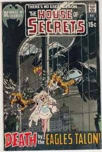 House of Secrets #91 (May-71) VF+ High-Grade