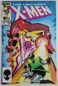 The Uncanny X-Men #194 - Fenris (Key First appearance) - NM+, Marvel Comics 1985
