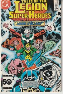 Tales of The Legion of Super Heroes # 322  Bring On The Villains !