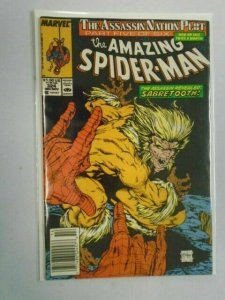 Amazing Spider-Man #324 The Assassin Nation Plot Part 5 Newsstand 5.0 (1989)