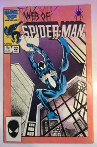 Web of Spider-Man #22 Marvel VF (1987)