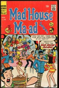 MADHOUSE MA-AD #69-ARCHIE JUGHEAD-HIPPIES VG/FN