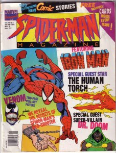 Spider-Man Magazine   vol. 1   #9 FR/GD