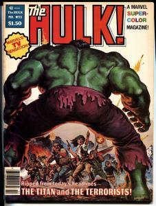 Hulk #13 First BILL SIENKIEWICZ story MOON KNIGHT 1978 Magazine VF+