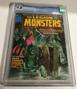 Legion Of Monsters 1 CGC 9.8 OW/W Pages First App. Of The Legion Of Monsters
