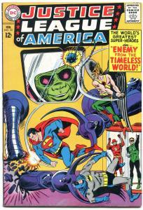 JUSTICE LEAGUE OF AMERICA #33 NICE 1965 DC BATMAN FLASH FN