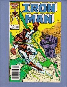 Iron Man #209 NM- Marvel 1986