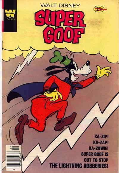 Super Goof (Walt Disney…) #50A FN; Whitman | combined shipping available - detai
