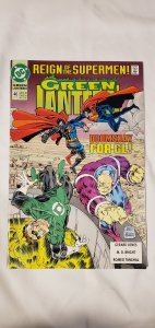 Green Lantern #46 - NM - Reign of the Supermen Tie In