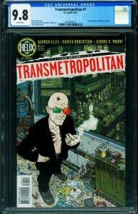 Transmetropolitan #1- CGC 9.8 DC Vertigo-First issue-2057603014