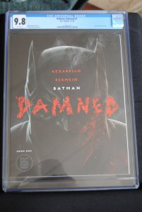 Batman Damned Book One. 9.8  HOT!!!