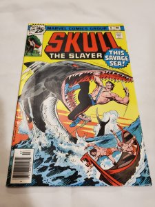 Skull the Slayer 6 Fine+ Cover by John Buscema and Mike Esposito