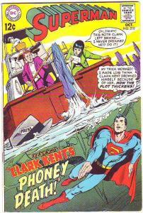Superman #210 (Oct-68) FN/VF- Mid-High-Grade Superman, Jimmy Olsen,Lois Lane,...