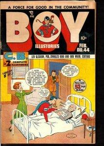 BOY COMICS #44-NORMAN MAUER CRIMEBUSTER STORY 1949 FN