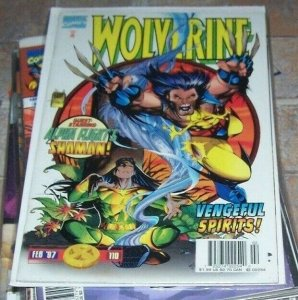 Wolverine #110 1997 Marvel shaman alpha flight elektra stick