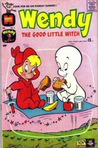 Wendy the Good Little Witch (1960 series) #4, VG- (Stock photo)