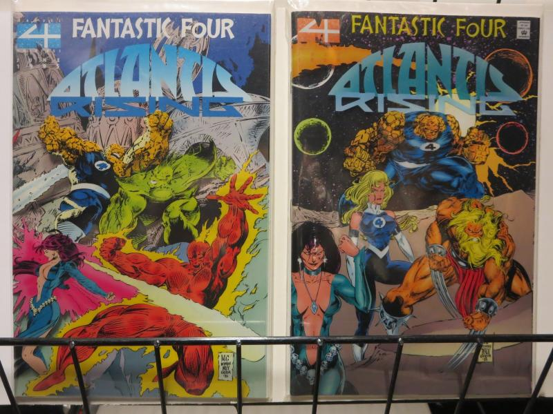 FANTASTIC FOUR ATLANTIS RISING 1-2 GET WET!!