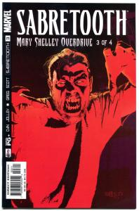 SABRETOOTH #1 2 3 4, NM+, Mary Shelley, Overdrive, Fangs, Mutant, X-men, Claws