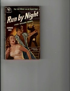 4 Books Run by Night And Then There Were None Murder Meets Mephisto Venus JK17