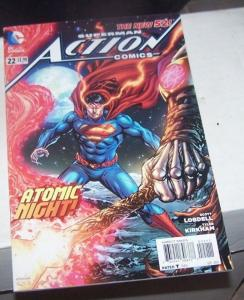 Action Comics #22 (September 2013, DC) the new 52 scott lobdell atomic night