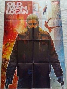 OLD MAN LOGAN Promo Poster, 24 x 36, 2015, MARVEL WOLVERINE,  Unused 175