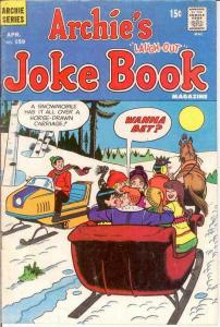 ARCHIES JOKE BOOK (1954-1982)159 VG April 1971 COMICS BOOK