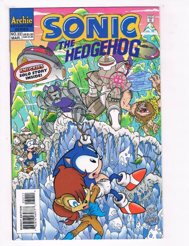 Sonic The Hedgehog 32 Nm Archie Comics Video Game Comic Book De27 Hipcomic