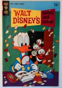 Walt Disney's Comics and Stories #355 Gold Key 1970 FN/VF Comic Book Donald Duck