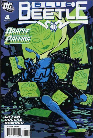 DC BLUE BEETLE (2006 Series) #4 NM