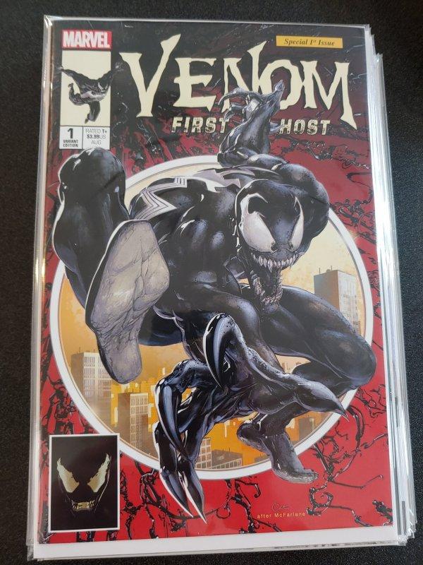 VENOM: FIRST HOST #1 CLAYTON CRAIN VARIANT ~ Scorpion Comics Exclusive
