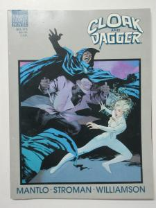 Cloak and Dagger: Predator and Prey Marvel Graphic Novel #34 1988