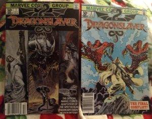 Dragonslayer #1-2 NM