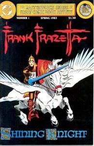 FRANK FRAZETTA-SHINING KNIGHT #1-MASTERWORKS