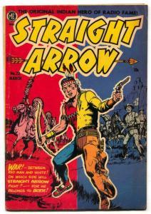 Straight Arrow  #23 1952-Golden Age Western VG+