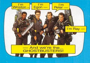 1989 Topps Ghostbusters #36 Were The Ghostbusters!